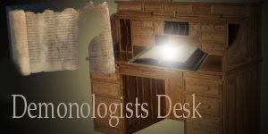 Demonologist's Desk